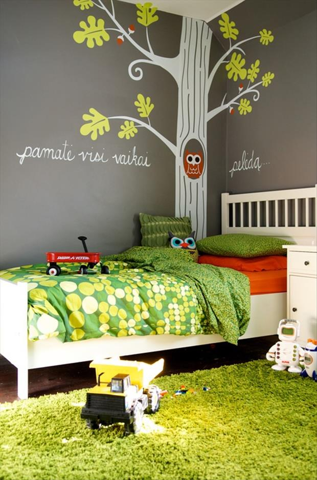 Awesome Kids Bedrooms - Owl themed