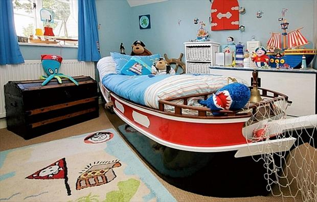 Awesome Kids Bedrooms - Pirate themed