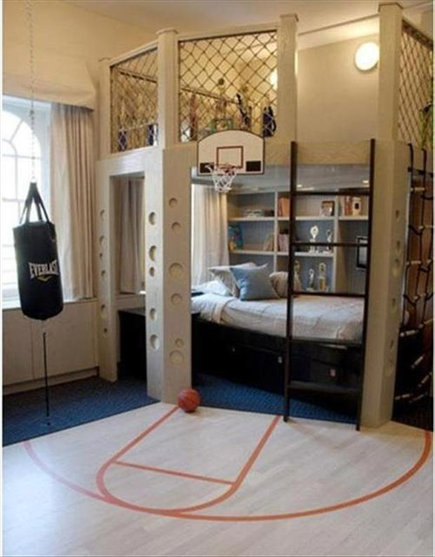 Awesome Kids Bedrooms - Sports themed