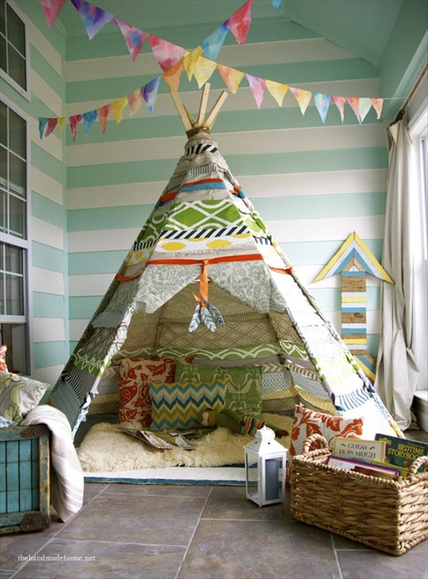 Awesome Kids Bedrooms - Teepee
