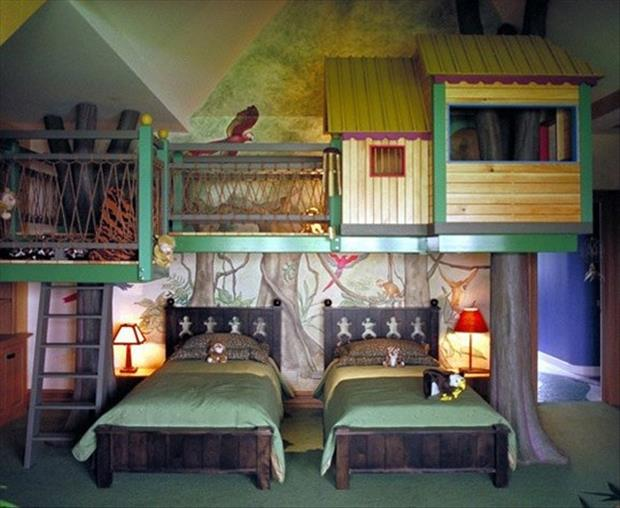 awesome kids bedrooms tree house room dump a day