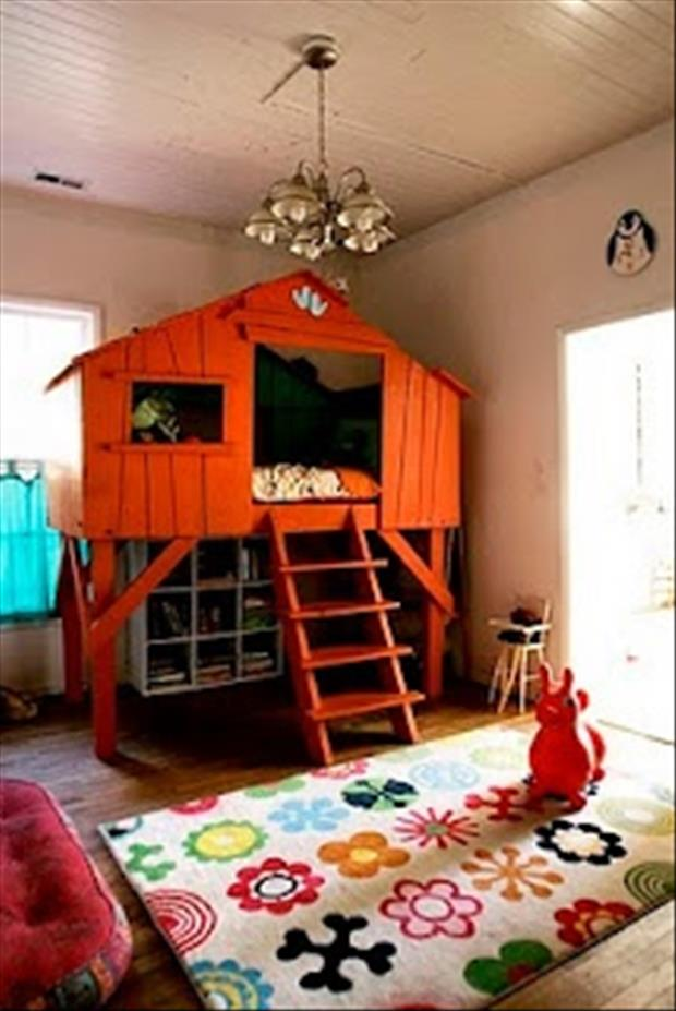 Awesome Kids Bedrooms - Tree house
