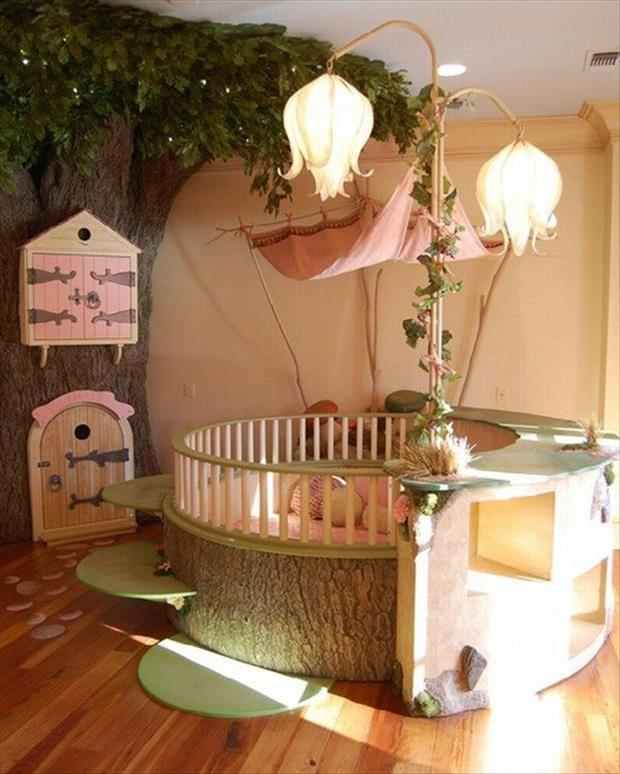 Awesome Kids Bedrooms - fairy tale themed