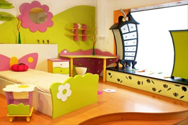 Awesome Kids Bedrooms - fun room
