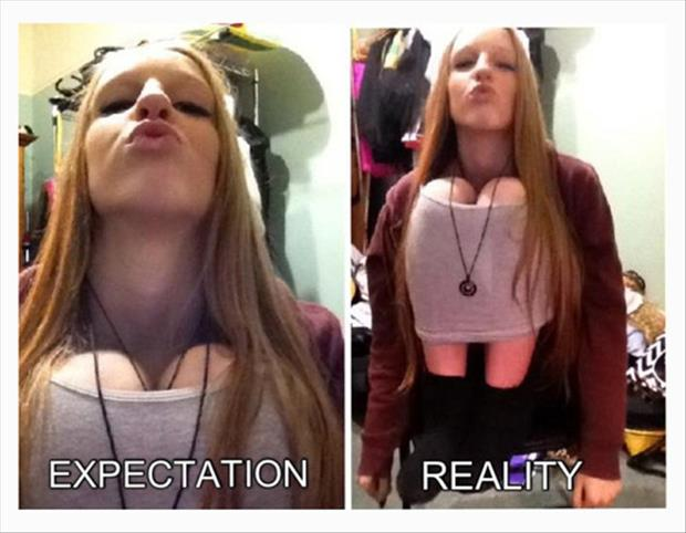 Best of Expectation Vs Reality Pictures- boobs