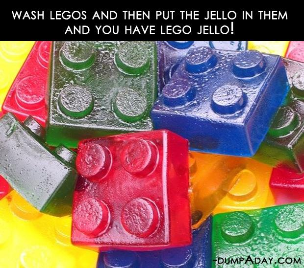 Crafty ideas- jello legos