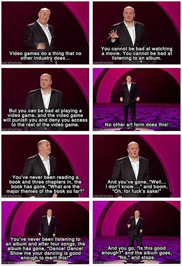 Dara O'Briain On Video Games