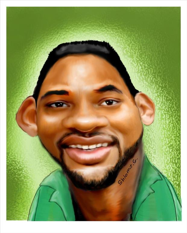 Funny Celebrity Charicatures- Will Smith