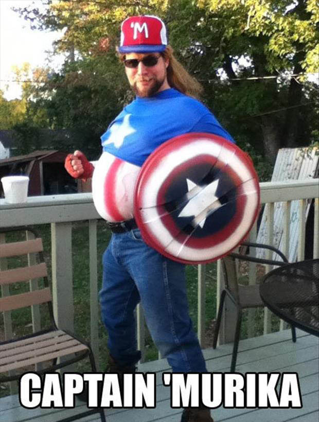Funny Murica Pictures-captain murica