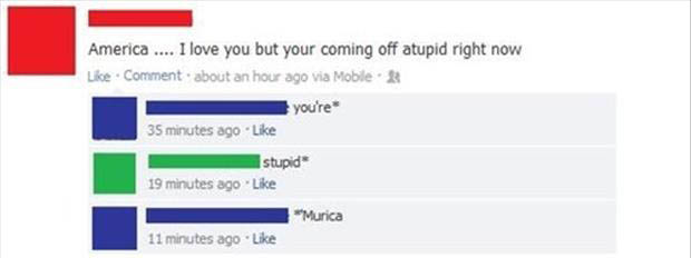 Funny Murica Pictures-facebook fail
