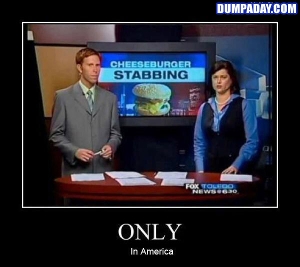 Funny Only In Pictures- America