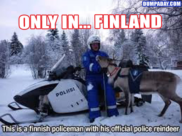 Funny Only In Pictures- Finland