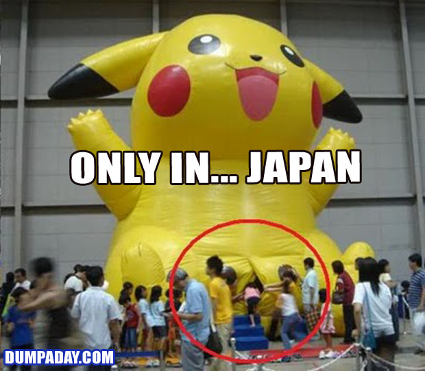 Funny Only In Pictures- Japan