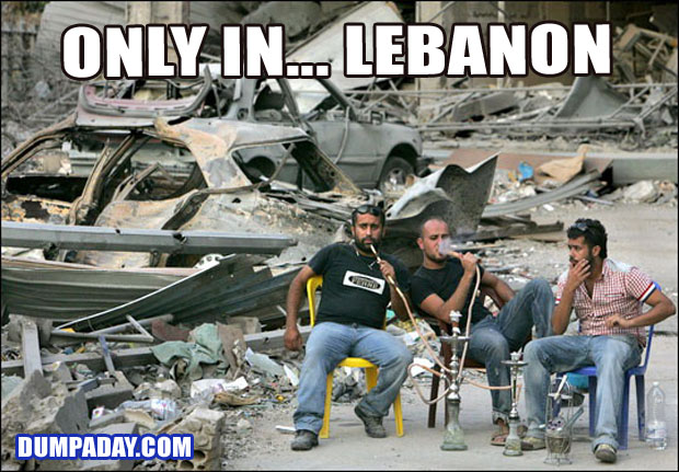 Funny Only In Pictures- Lebanon