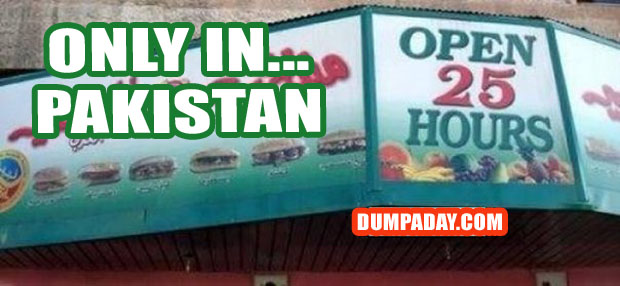 Funny Only In Pictures- Pakistan