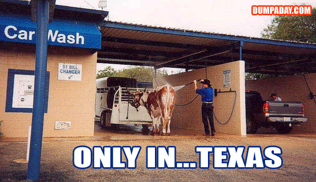 Funny Only In Pictures- Texas