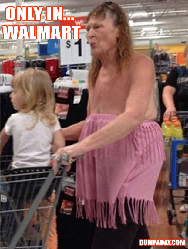 Funny Only In Pictures- Walmart