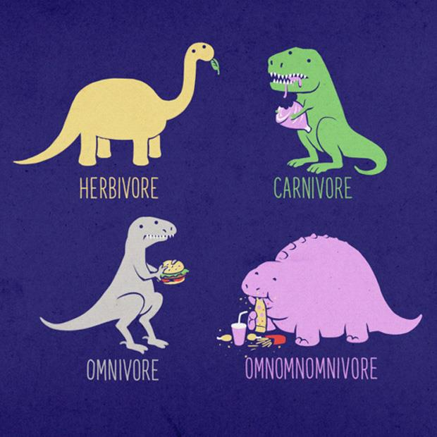 Funny dinnosaurs