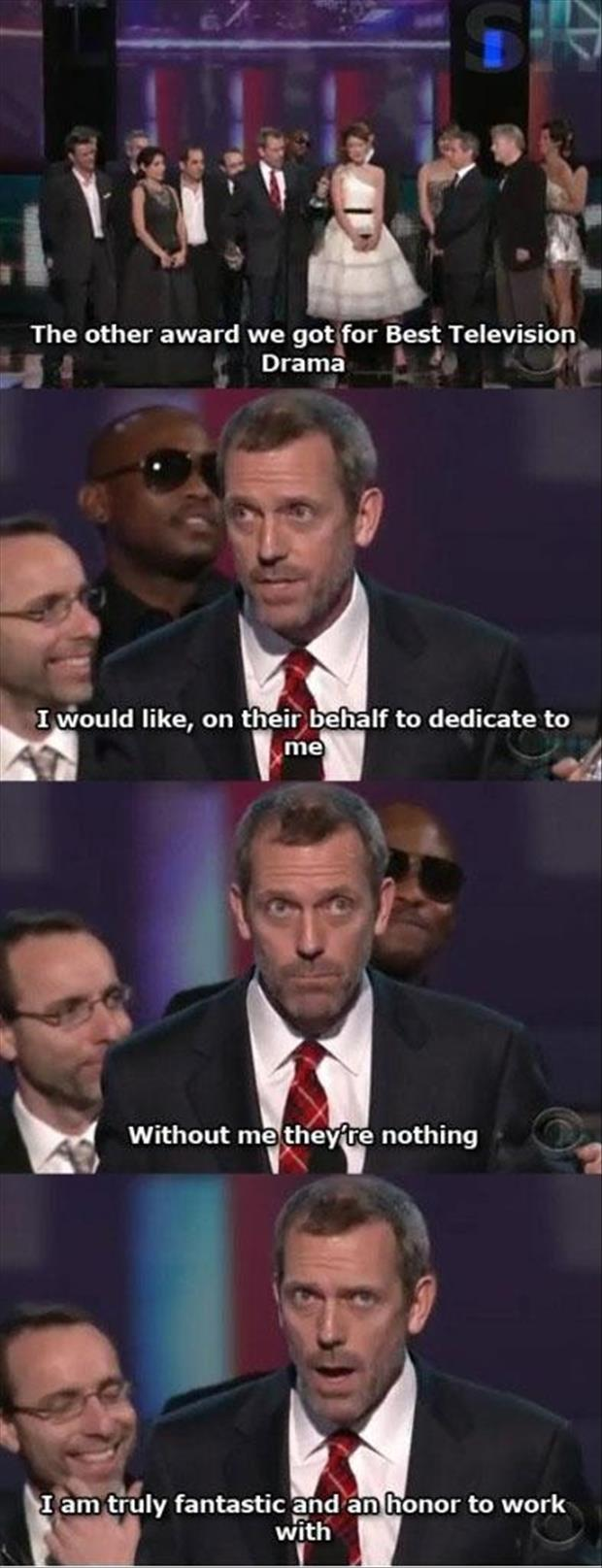 Hugh Laurie speech