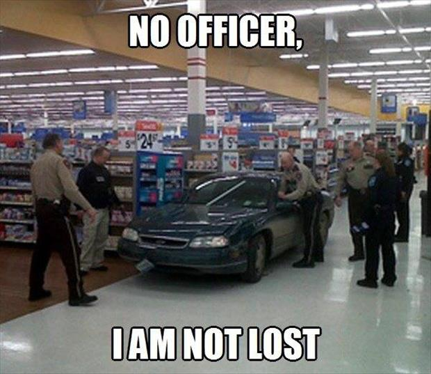 I'm not lost