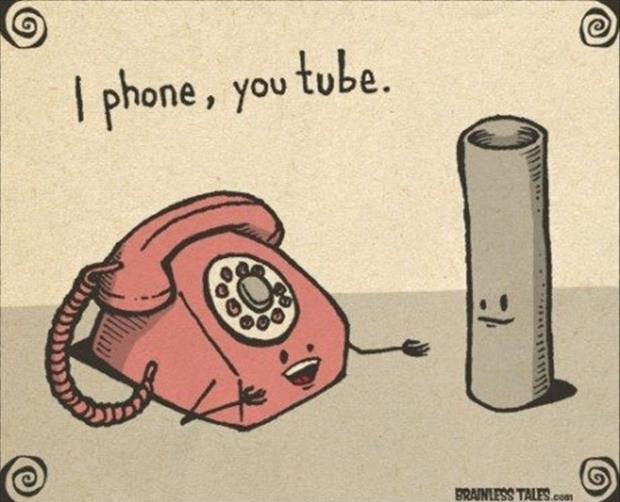 Punny Puns- Iphone youtube