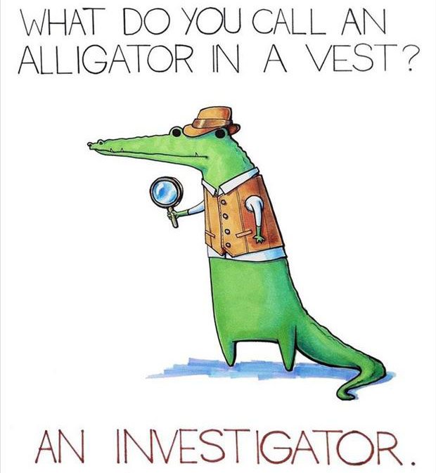 Punny Puns- alligator pun