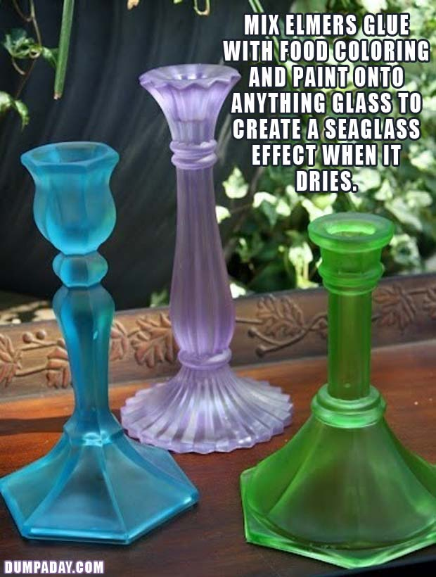 a DIY-Fun-Crafts-Colored-Seaglass-candlestands