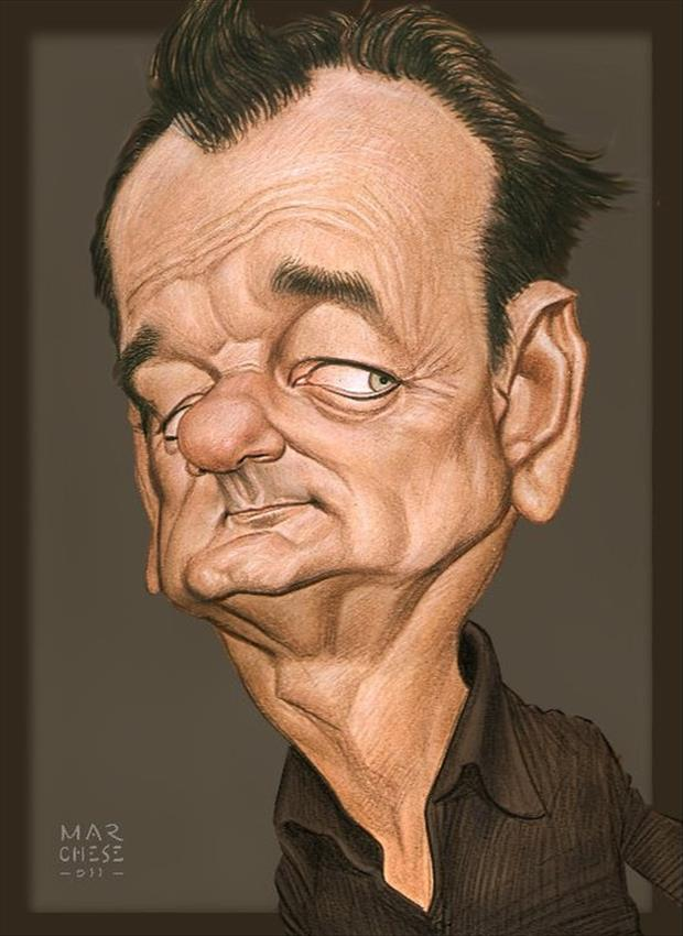 Funny Celebrity Caricatures - 40 Pics