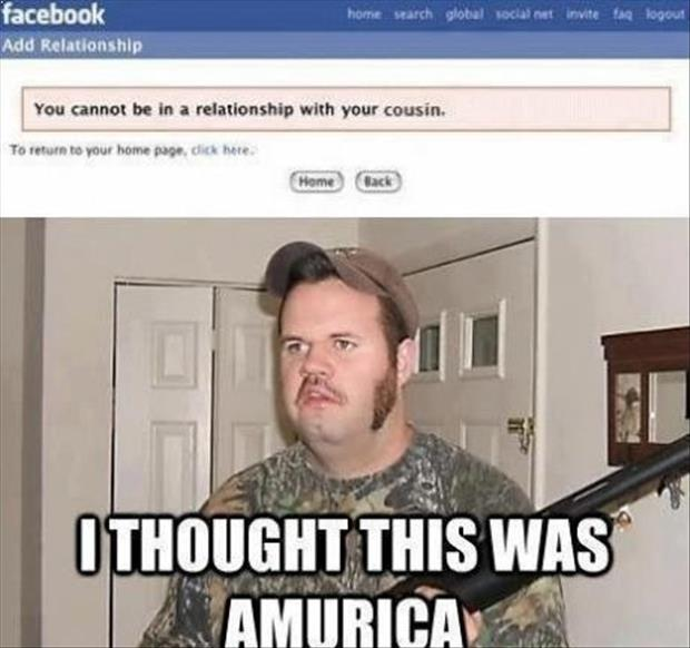 a Funny Murica Pictures-relationship with your cousin