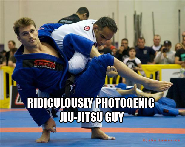a Ridiculously Photogenic Jiu-Jitsu Guy