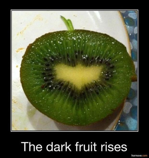 a demotivational posters funny fruit