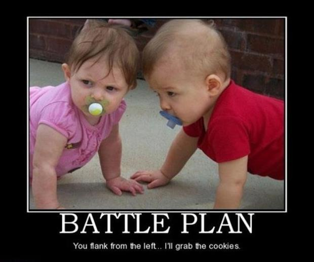 a funny babies demotivational posters