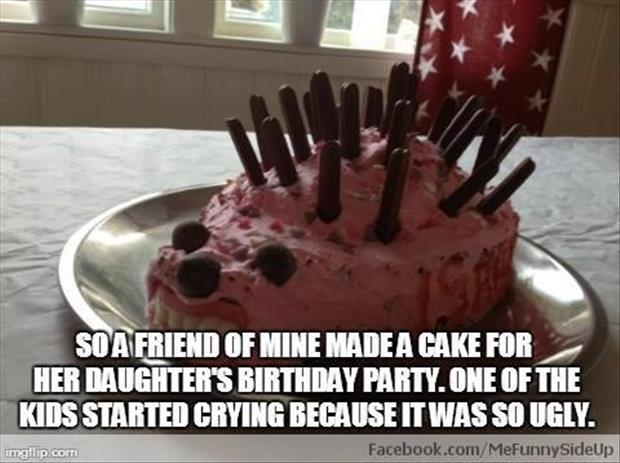 a funny birthday cake
