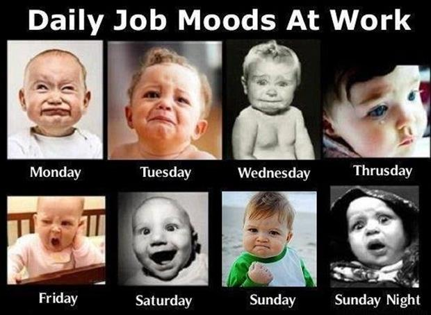 what is your favorite day in a week? A-funny-faces-at-work1