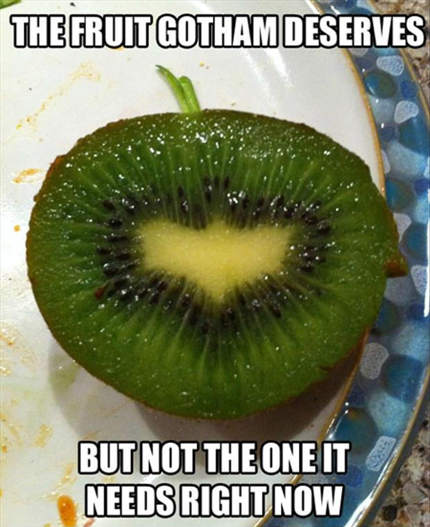 a funny fruit