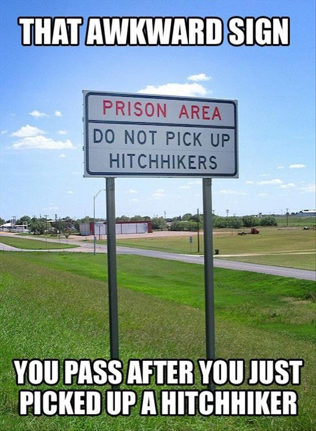 a funny signs, awkward moments