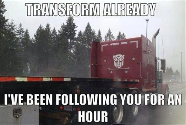 a funny transformers