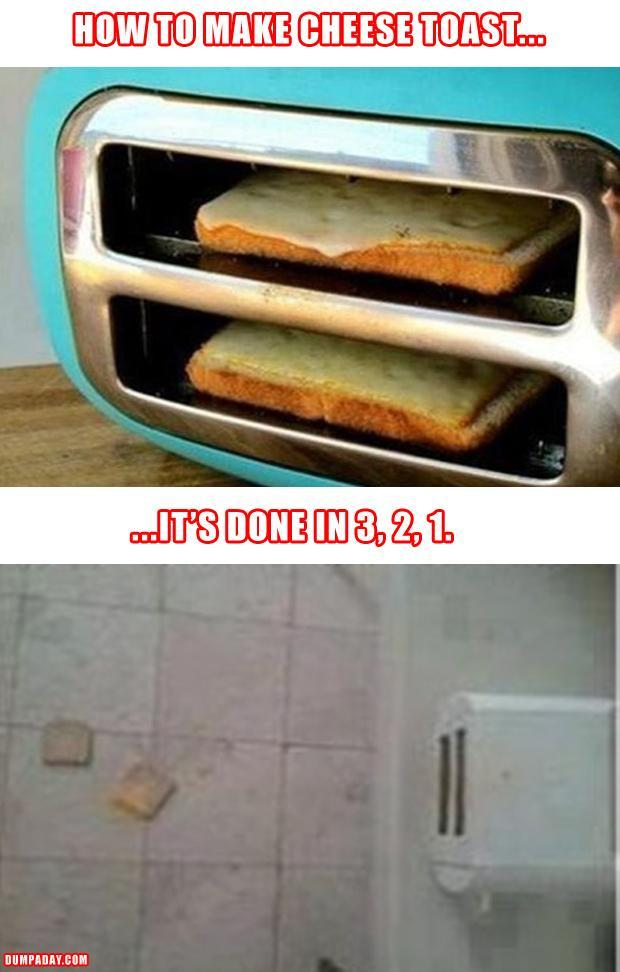 a how to make cheese toast