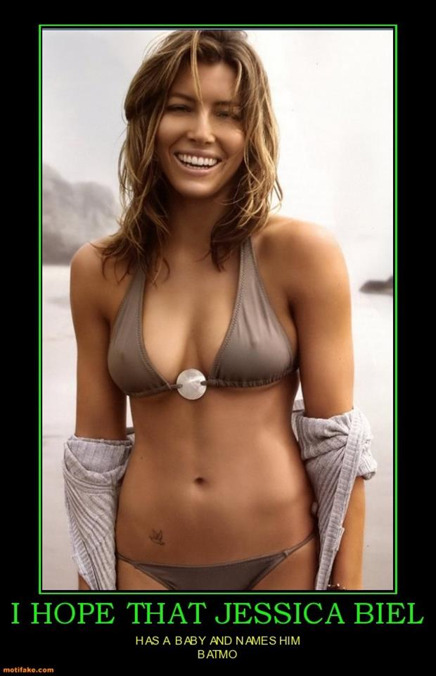 a jessica biel demotivational posters bikini
