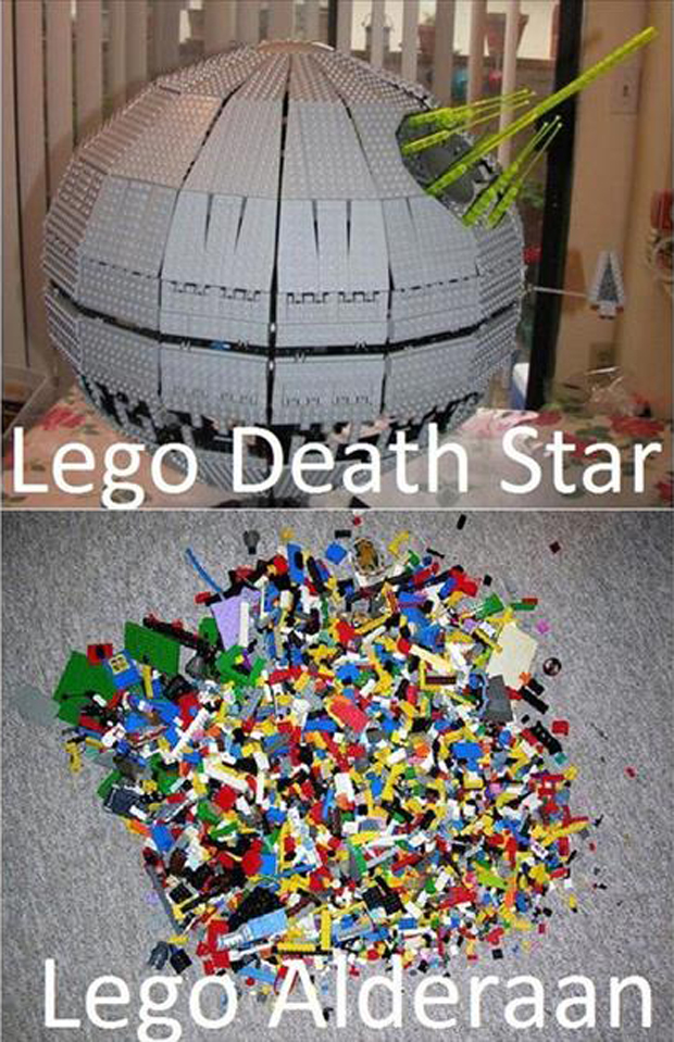 a lego death star funny pictures