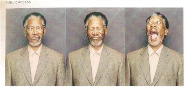 a morgan freeman