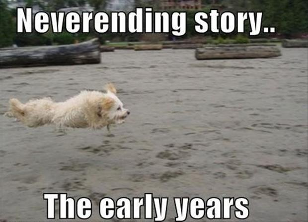 a never ending story the early years funny pictures