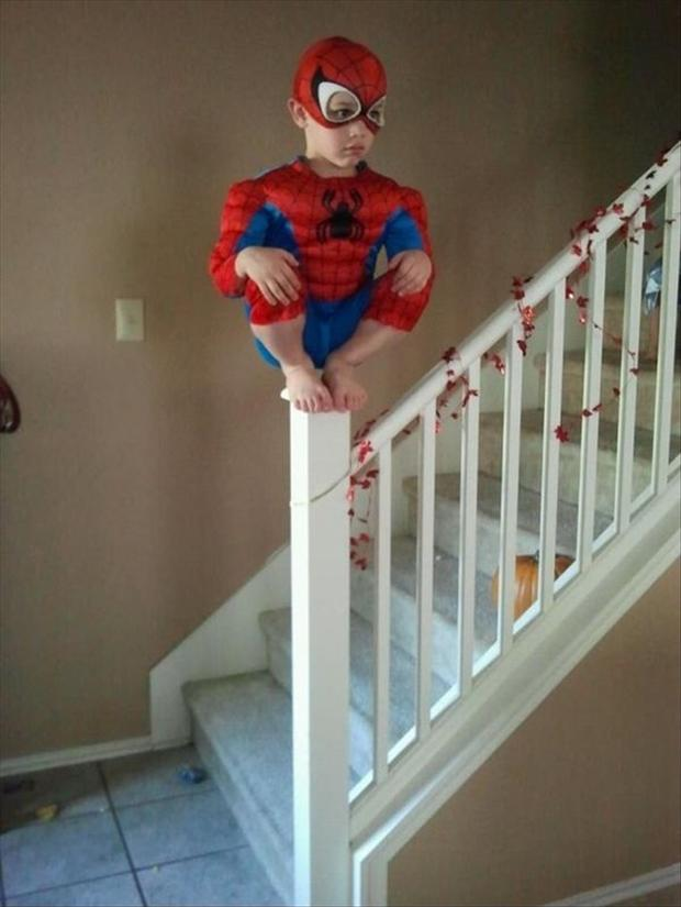 a spiderman funny kids