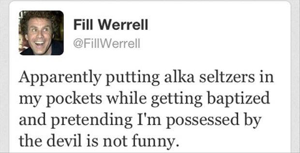 a will ferrel twitter quotes