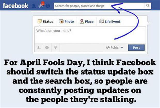 april fools day pranks funny facebook