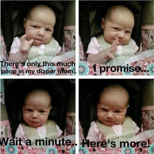 baby pooping funny pictures