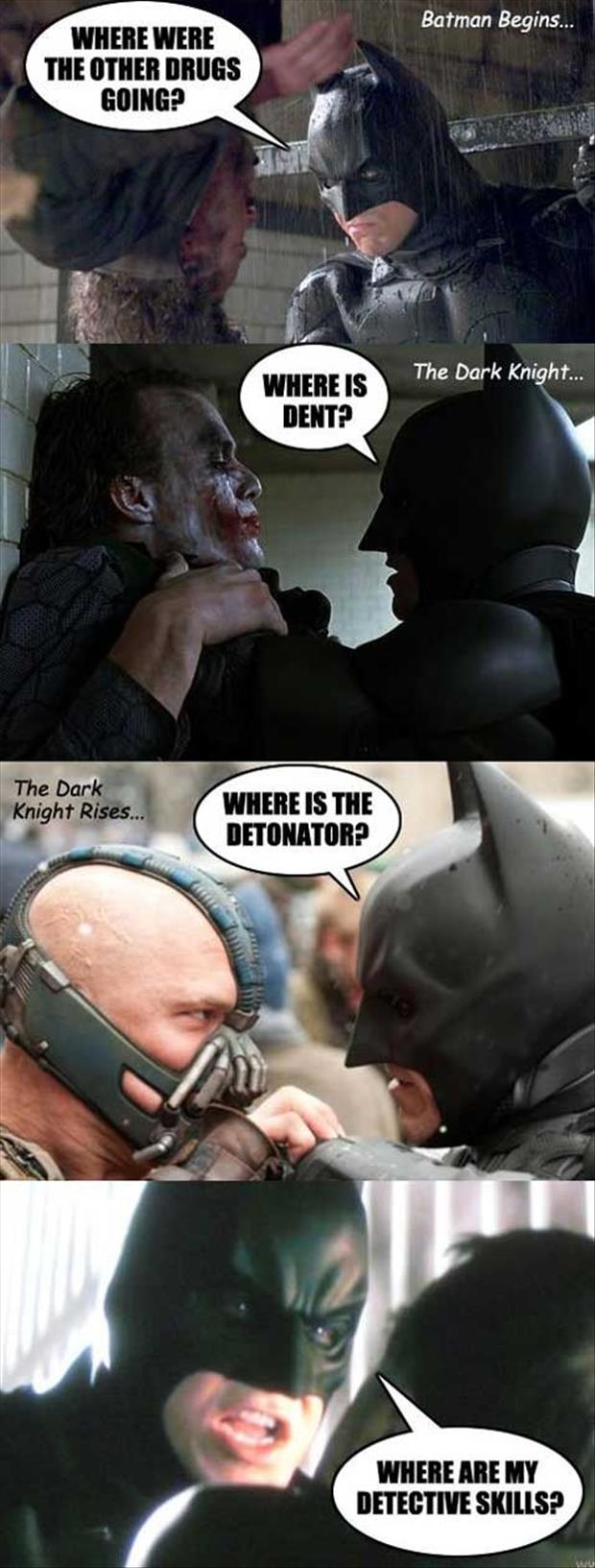 batman asks a lot of questions