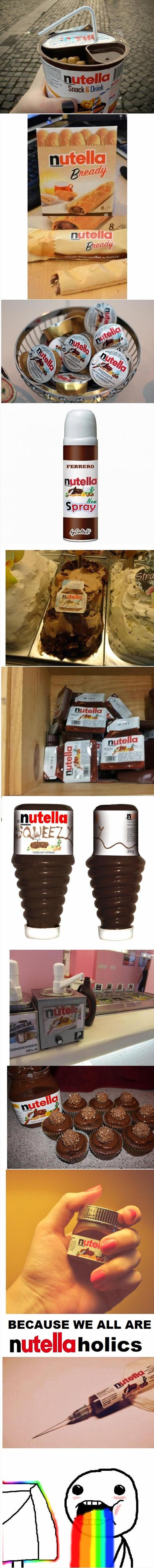 because we are all nutella holics