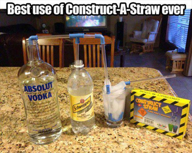 best use of construct a straw ever