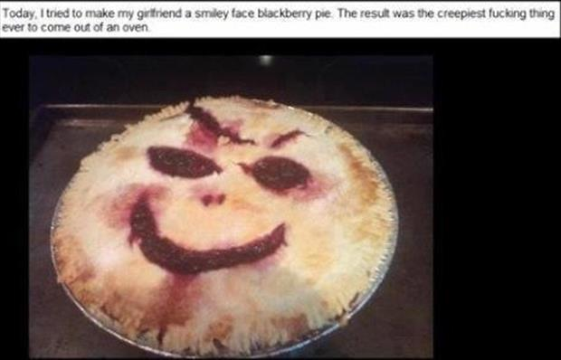 blueberry pie scary pictures